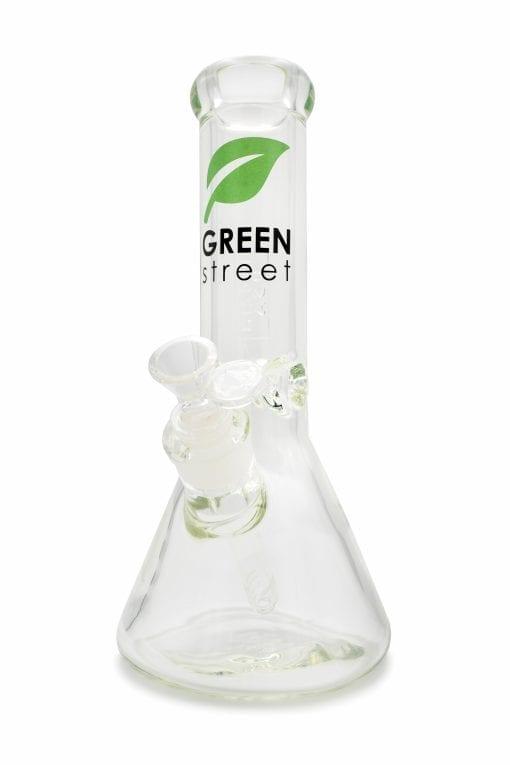 Green Street 10 Inch 9mm beaker bong