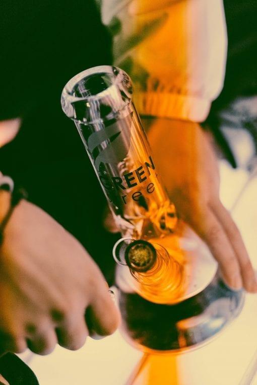 Green street beaker bongs for sale