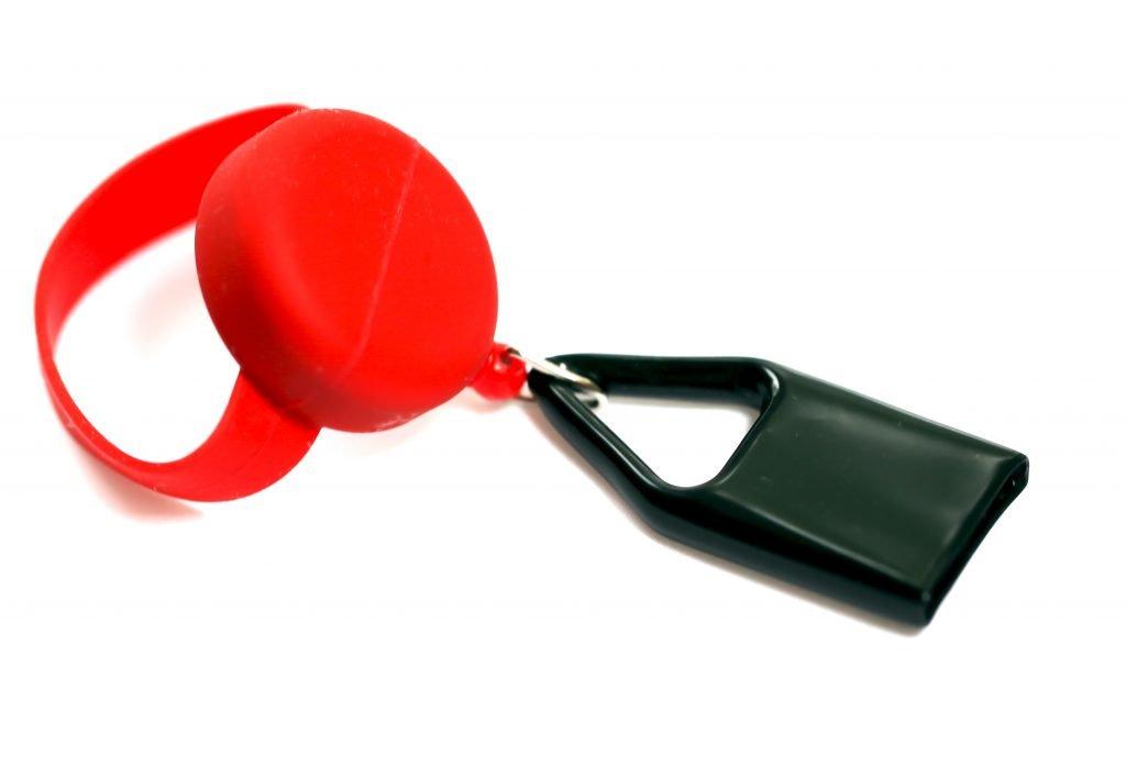 Red Bong Buddy bong lighter holder